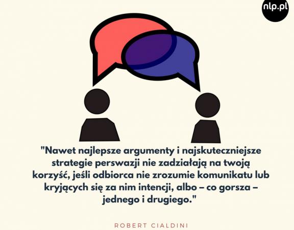 _Nawet najlepsze argumenty i najskuteczniejsze strategie perswazji nie zadziałają na twoją korzyść, jeśli odbiorca nie zrozumie komunikatu lub kryjących się za nim intencji, albo – co gorsza – jednego i drugiego._